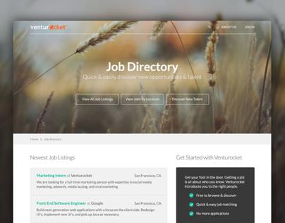 Venturocket Job Directory