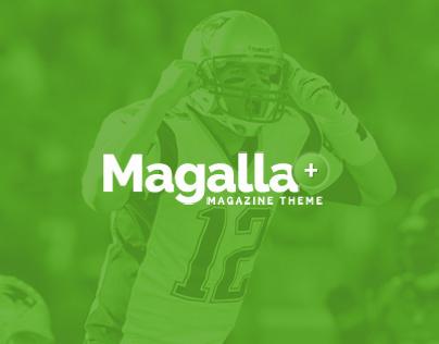 Magalla - Magazine PSD Template