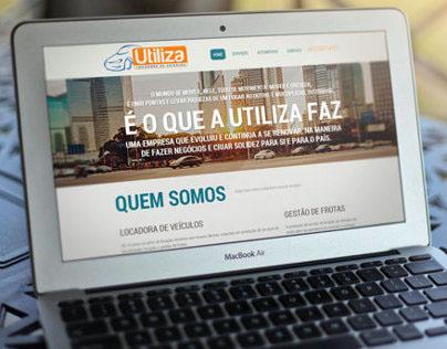 Utiliza Locadora de Veiculos Website