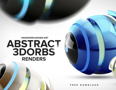 Free abstract Orb Renders