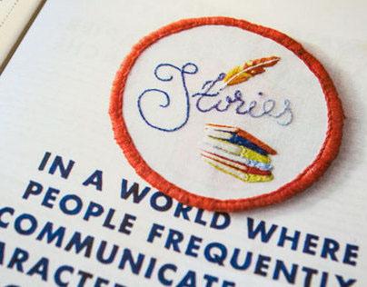 Design*Sponge Embroidered badges