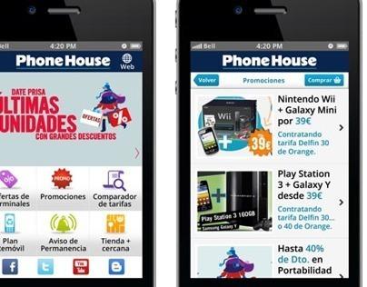 Diseño Web Móvil de The Phone House