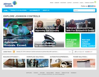 Johnson Controls User Friendly Website
