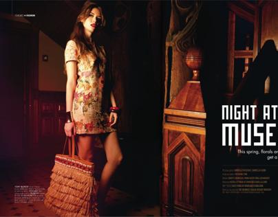 Night at the Museum - Hi Luxury magazine  February 2014