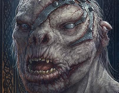 Hobbit Fanart - Bolg