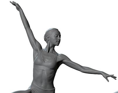 Ballerina - Female 3d Scans