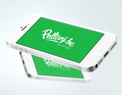 Pattanj.be Carpooling application - concept