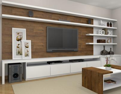 3D - Sala/Home