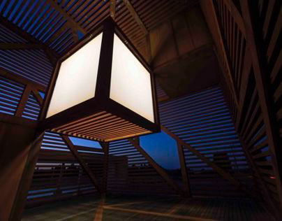 Tokamachi Lantern/Lighthouse of Friendship, Japan, 2012