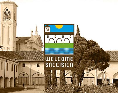 Proposta di brand identity per Welcome Saccisica