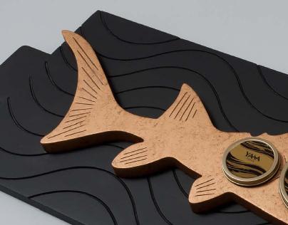 Yasa Caviar Gift Tray - designed by abjad design