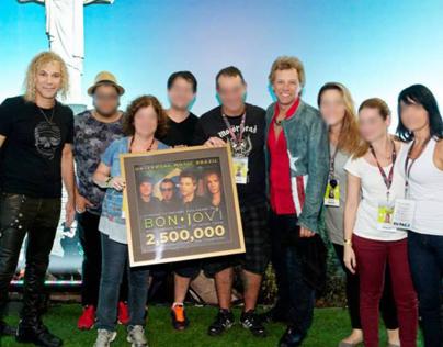 Bon Jovi sales award