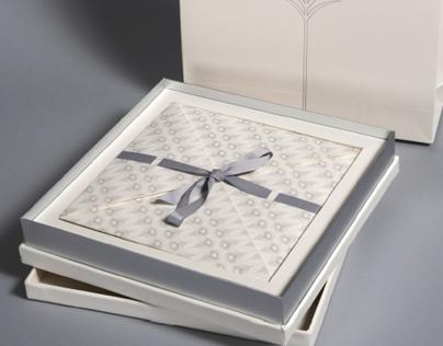 wedding invite by abjad design