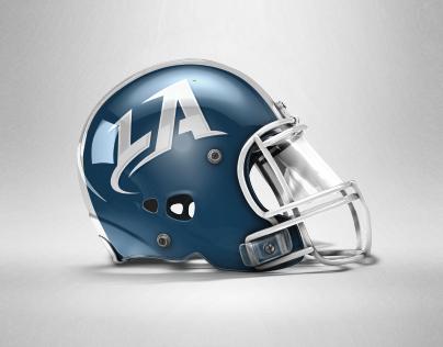 LA Express logo proposal for A11FL League