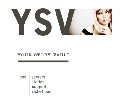Your Story Vault Creative: Logo and Site Redesign