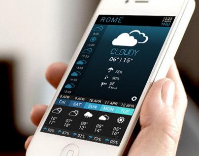 UI Concept   Weather app