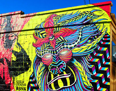 Stoned Ape Theory: Mural Collab