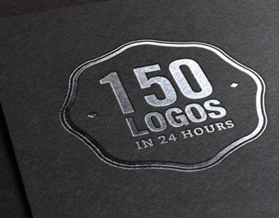 150 Logos in 24 Hours.