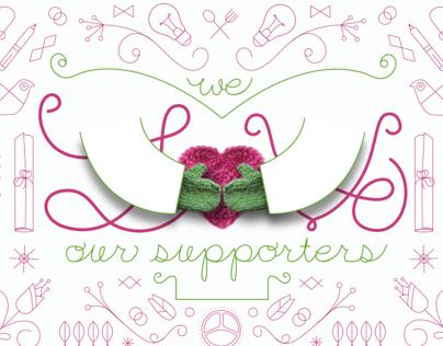 MIFA   Valentine Postcard