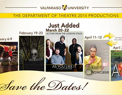 Valparaiso University Arts Event Campaign Emails