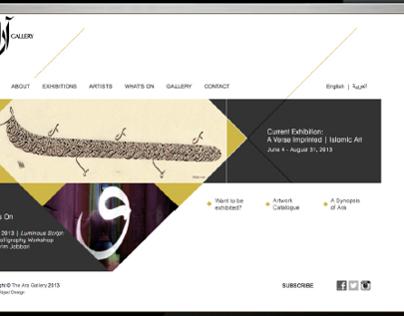 website design by abjad design
