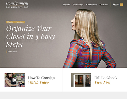 Consignment Website