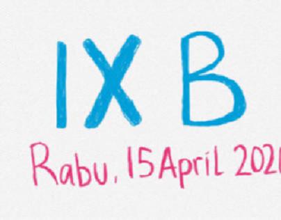 IX B (15 April 2020)