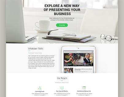 Infobizzer (News Portal)
