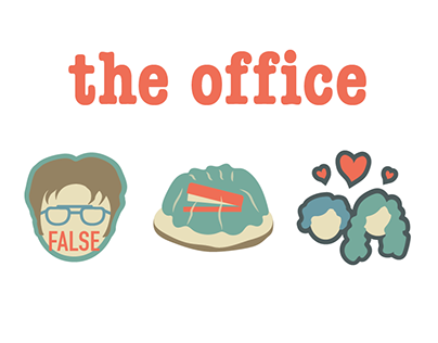 The Office Animated Icon Set