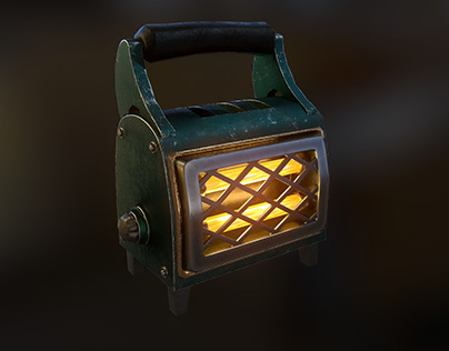 Heater (low-poly)