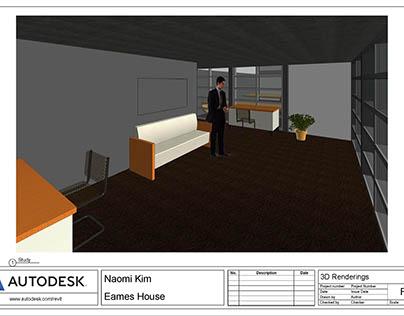 Eames House Study