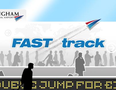 Fast Track Kiosk Interface