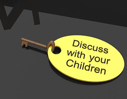 Discuss with your children