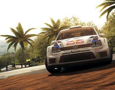 WRC 4 //PS3/X360/PC Games Art Direction