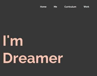 Personal Web Page experiment