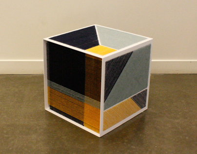 Embroidered Cube