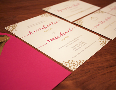 Pink & Dot Wedding Suite