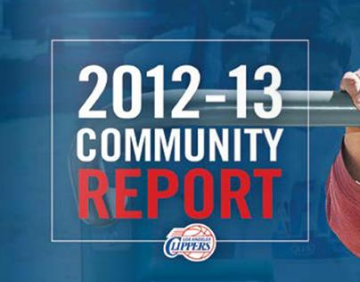 LA Clippers Community Report