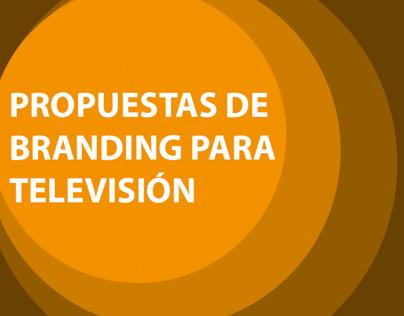 PROPUESTAS DE BRANDING PARA TELEVISIÓN FOX LIVE