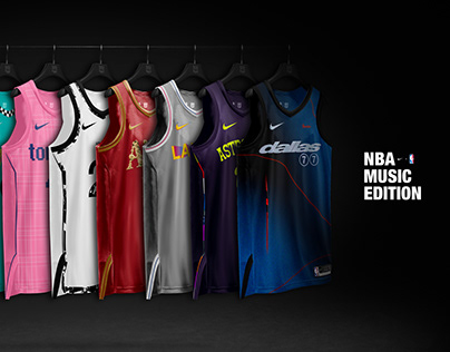 NBA Jerseys – Music Edition