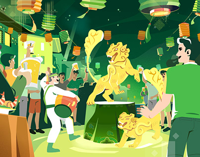 Festival Beer - Tưng bừng lễ hội / Animated