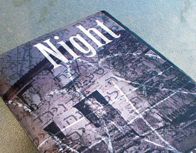 """Book Cover - """"Night"""" Elie Wiesel"""