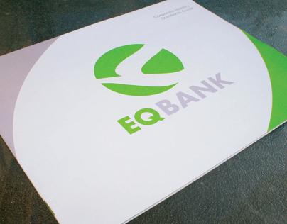 "Corporate Identity - ""EQ Bank"""