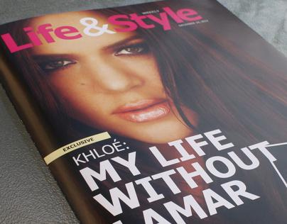 Life & Style Magazine - remake