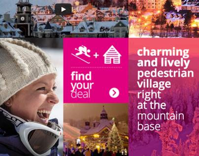 Tourisme Québec - Responsive Web Design
