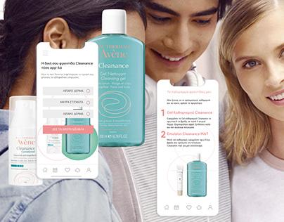 Cleanance Mobile App UI