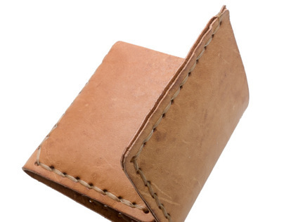 Kangaroo Leather Tri-Fold Wallet