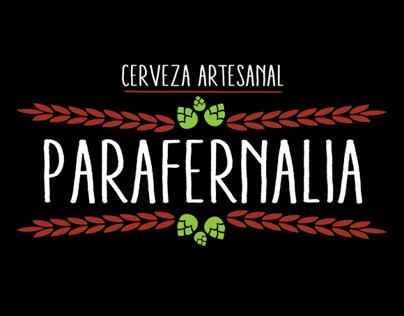 Propuesta de marca Cerveza Artesanal Parafernalia