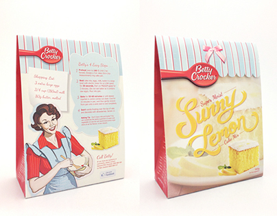 Betty Crocker Cake Mix—FMCG Redesign