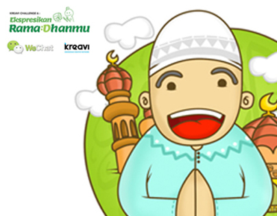 WeChat Sticker Competition (Ramadhan)
